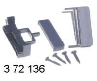 rámeček autorádia -AUDI A4 (->98) - A6 (->97) - A8