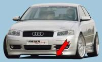Rieger tuning Lipa pod spoiler Audi A3 typ 8P r.v. 2003-