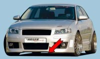 Rieger tuning Lipa pod přední nárazník Audi A3 typ 8P r.v. 2003-