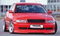 Rieger tuning Spoiler pod přední nárazník Audi A4 r.v. 1999-2000