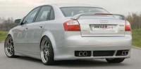 Rieger tuning Spoiler pod zadní nárazník Audi A4 8E r.v. 2000-