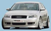 Rieger tuning Spoiler pod přední nárazník Audi A3 typ 8P r.v. 2003-