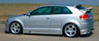 Rieger tuning Boční prahy Je Design Audi A3 typ 8P r.v. 2003-