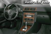 Decor interiéru Audi A 4 -bez klimatizace rok výroby 11.94 - 01.99 -9 dílů přístrojova deska/ středová konsola