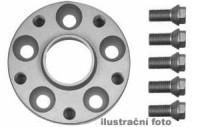 HR podložky pod kola (1pár) AUDI A3 + S3 (Typ 8L) rozteč 100mm 5 otvorů stř.náboj 57,1mm -šířka 1podložky 20mm /sada obsahuje montážní materiál (šrouby, matice)